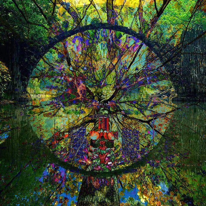 Stargate - Marie C. Jones Digital Art