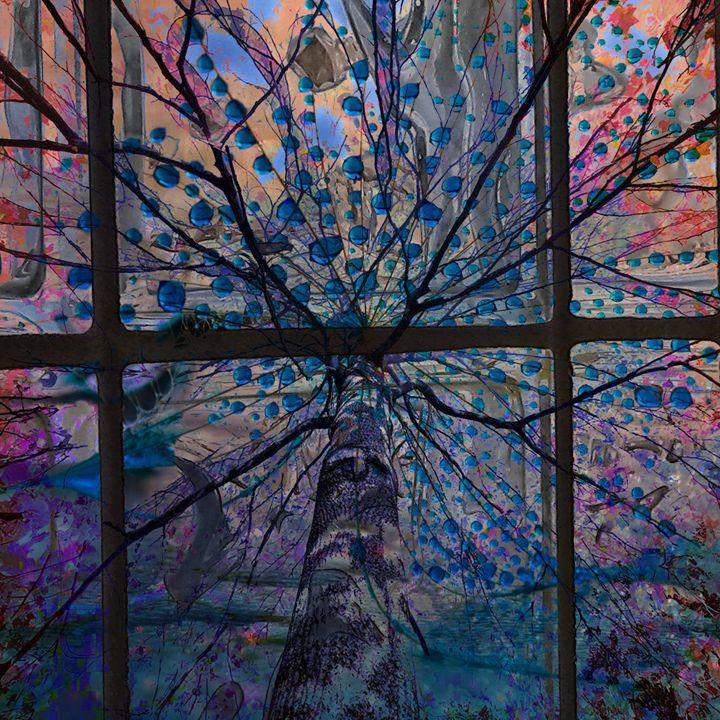 Glass Tree - Marie C. Jones Digital Art