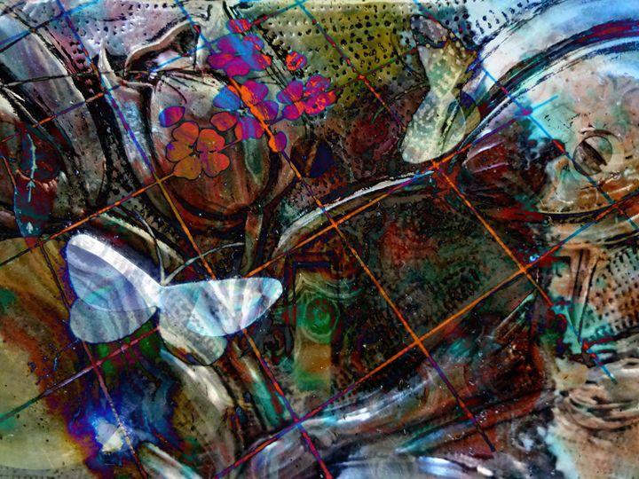 Labyrinth 3 - Marie C. Jones Digital Art