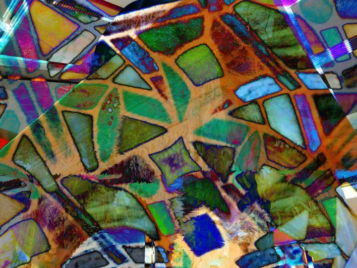 Labyrinth 1 - Marie C. Jones Digital Art