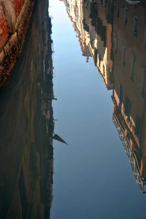 Reflection on the Venice Canals - Eliza Grace