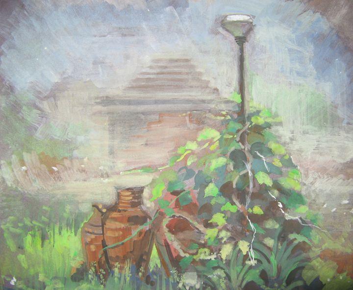 Lamp Post - Pratibha Patankar
