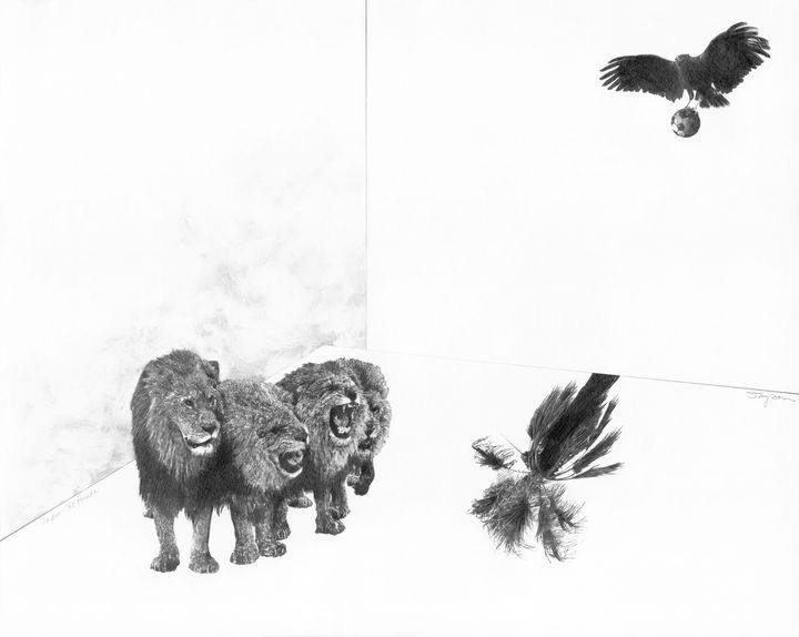 Lions on Parade - Stonebrook Gallery