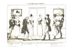 The fury of corsets (1809)