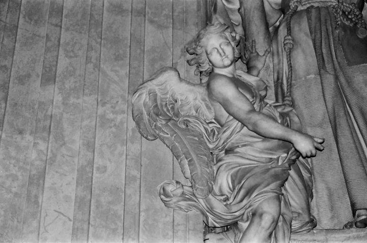 Angel St Peter Basilica photograph - Stonebrook Gallery