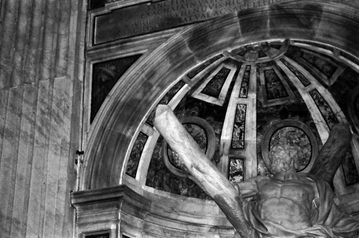 St Peters Basilica Statue Christ - Stonebrook Gallery