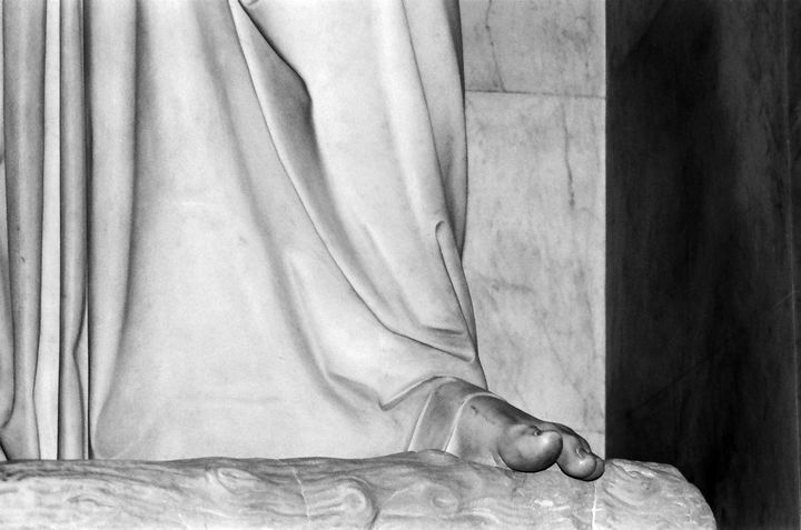 Saint Peters statue photograph - Stonebrook Gallery