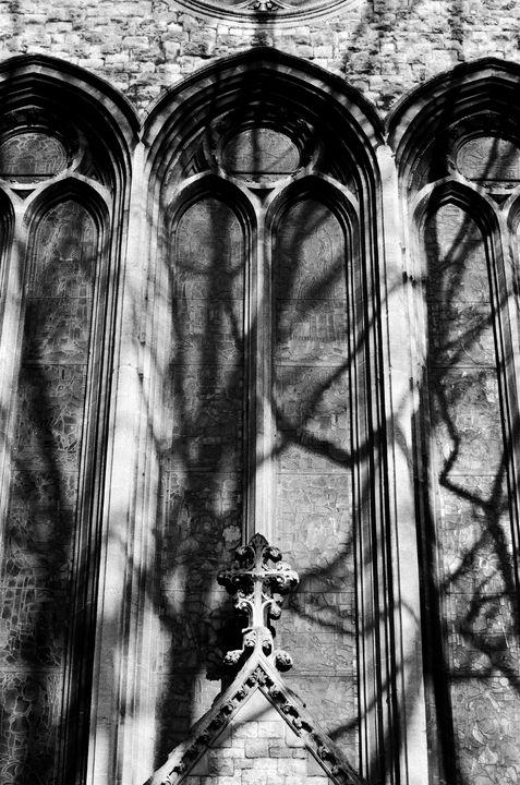 Church Windows St Peters Basilica - Stonebrook Gallery