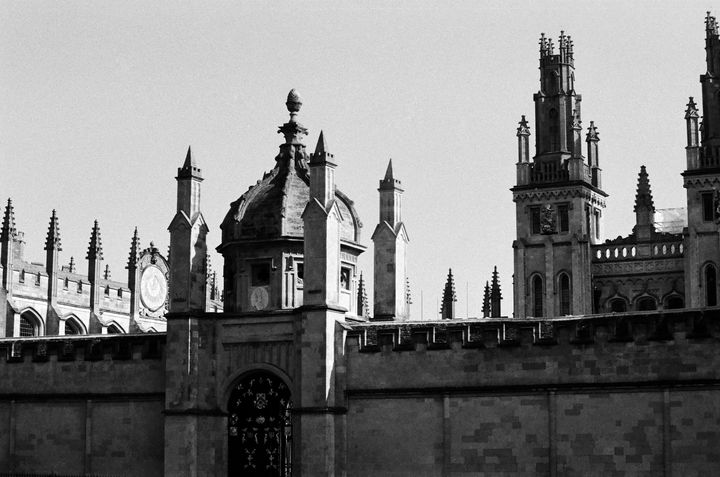 Oxford University Fellows Quad - Stonebrook Gallery
