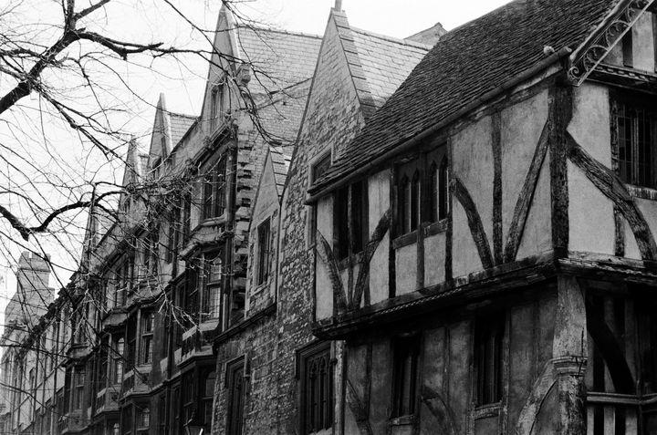 Cornmarket Street Oxford, England - Stonebrook Gallery