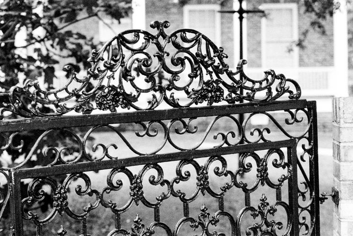 Iron Gate photo by Larry Simpson - Stonebrook Gallery