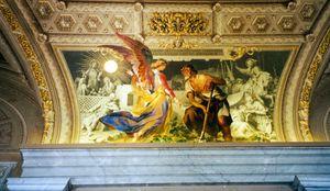 Ceiling Mural 4, Cistine Chapel