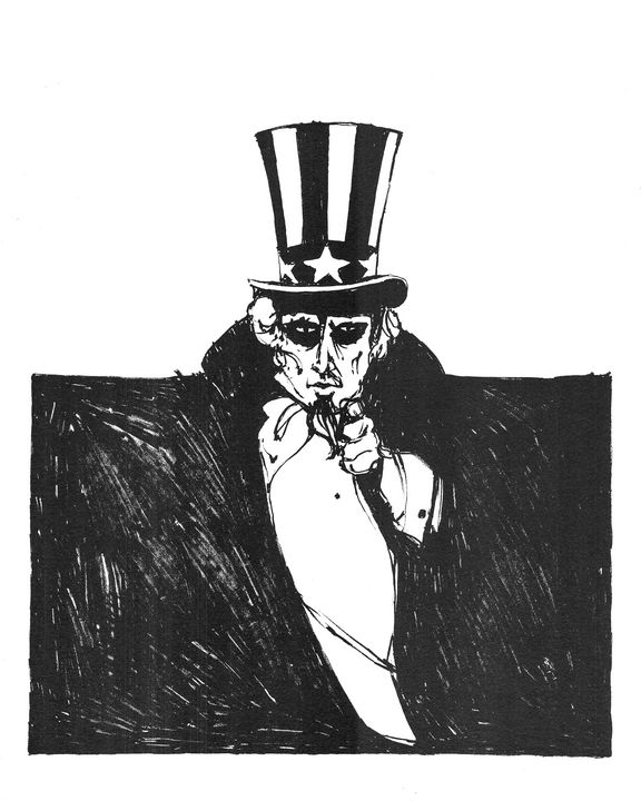 Uncle Sam wants you by Larry Simpson - Stonebrook Gallery