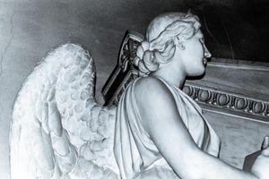 Angel in St Peters Basilica