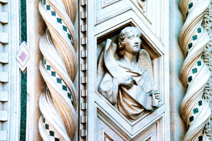 Statue of the duomo of Florence - Stonebrook Gallery
