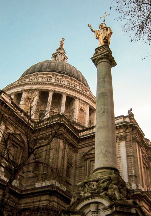 St. Paul's Cathedral in London - Stonebrook Gallery