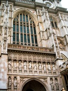 Gothic Westminster Abbey London