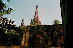 Barcelona gothic cathedral