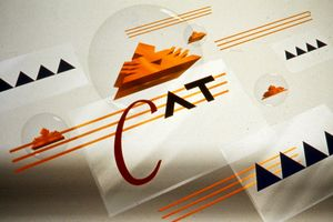 CAT Logo by Larry Simpson