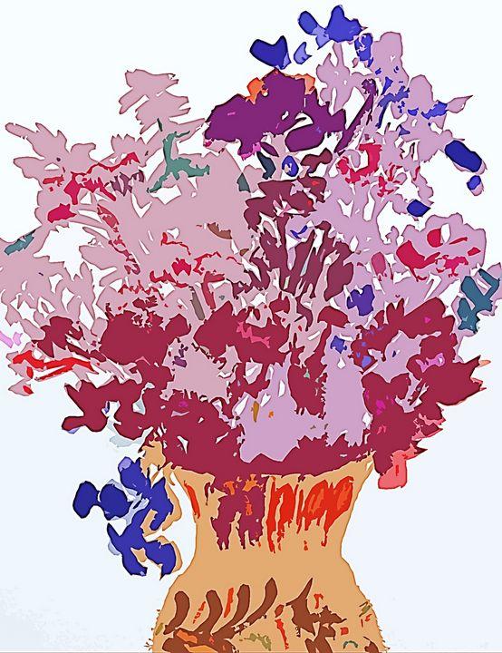 Vase of Flowers Arranged for You - Sapora Sparrow Reror