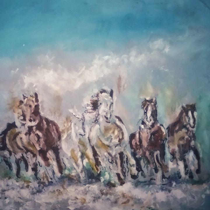 Wildpferde - Yann Aubin