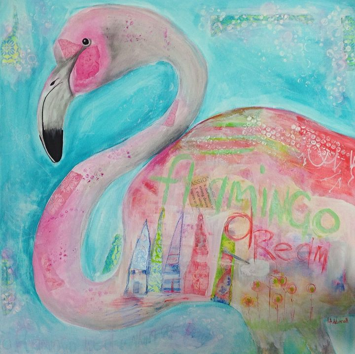 Flamingo Dream - Lisa Addinsall Artist