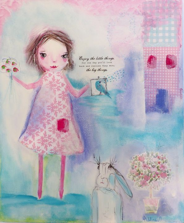 Enjoy the little things - Lisa Addinsall Artist