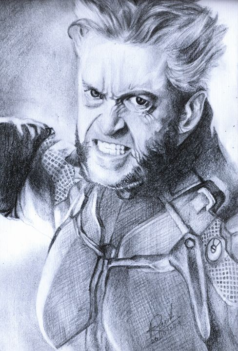 X-Men The Wolverine - Pencil Drawings