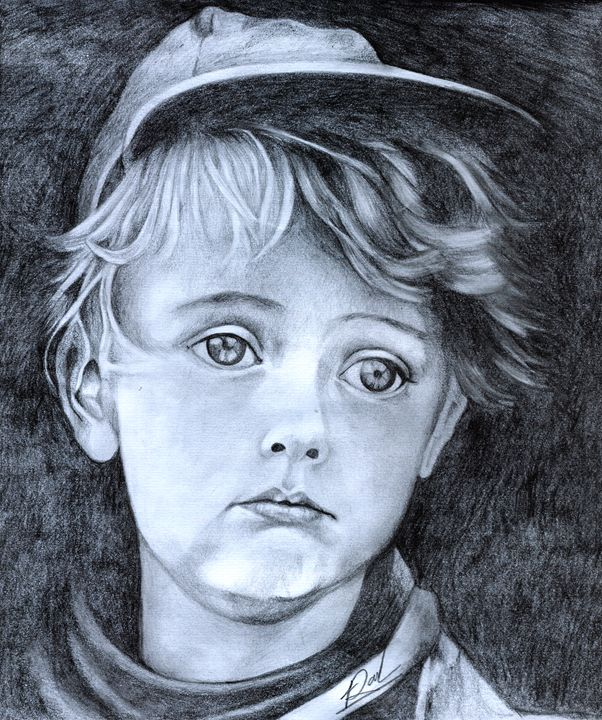 Baby Hope - Pencil Drawings