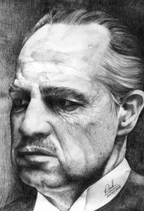 Marlon Brando as God father