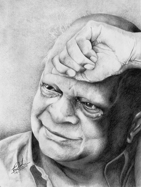Musician Portrait - Pencil Drawings