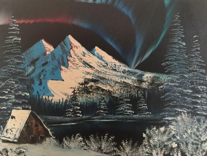 Aurora - Everett Boyer- Bob Ross Style Paintings