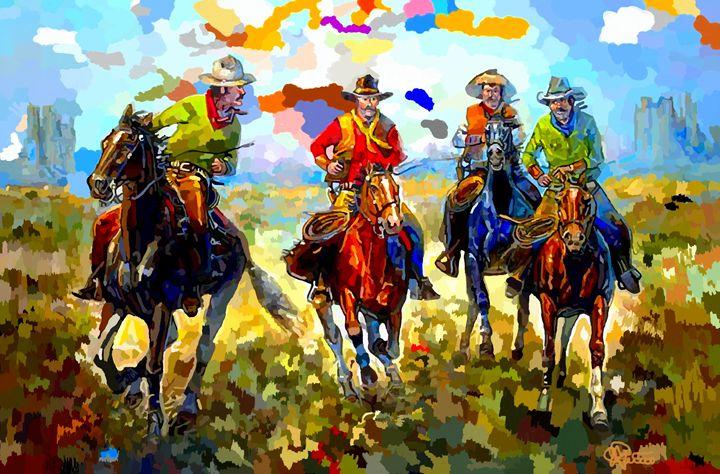 Outlaws - Charles Papaccio