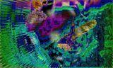 Digital Visual Art with distortion