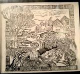 Original etch print
