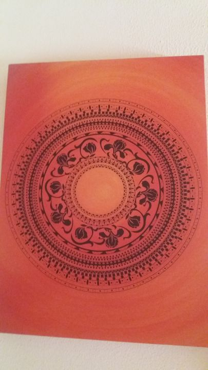 Indian print - Pam Watson