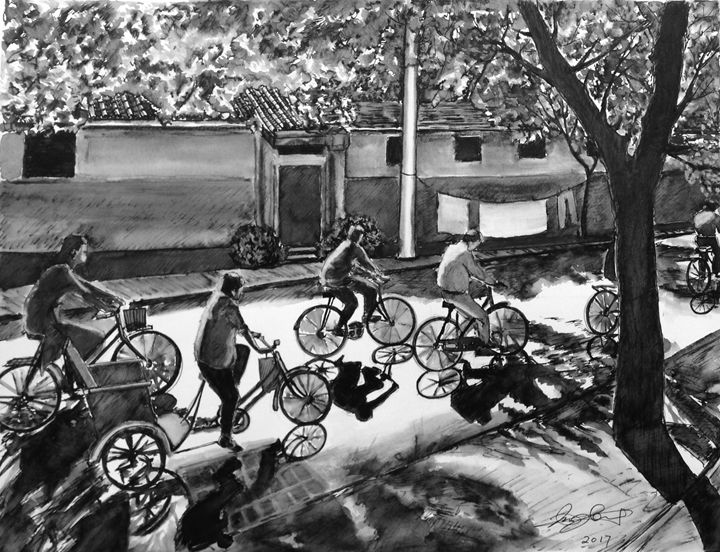 Biking - Xin Zhang