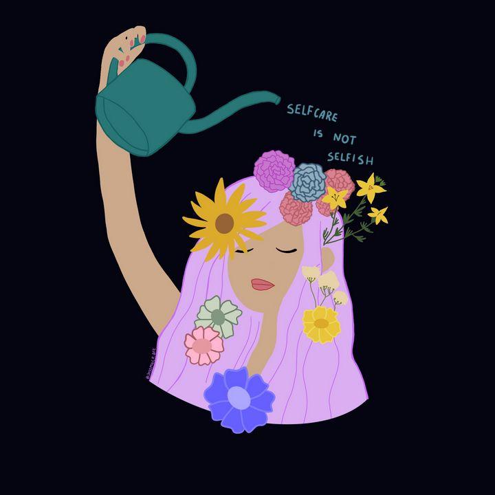 Self Care is Not Selfish - Jess Mackenzie