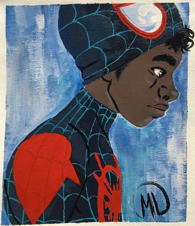 Miles morales - Mike's Paintings