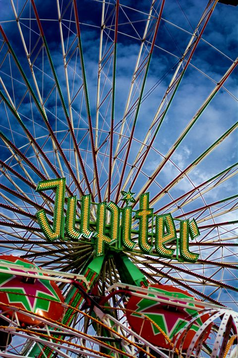 Ferris wheel at a funfair - My Pictures