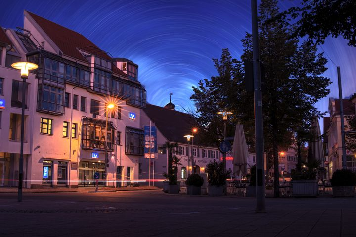 Nightscenery of Laupheim - My Pictures
