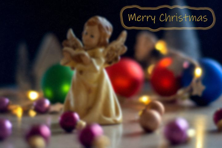 Concept Christmas : Merry Christmas - by Photoart-Naegele