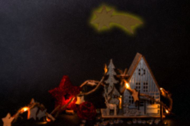 Concept Christmas : The barn - by Photoart-Naegele