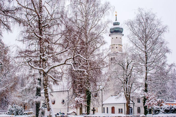 DE - Laupheim : St. Leonhard chapel - by Photoart-Naegele
