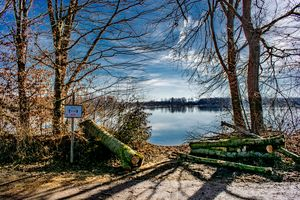 DE - Baden-Württemberg : Lake view