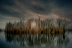 Abstractart : Lake island