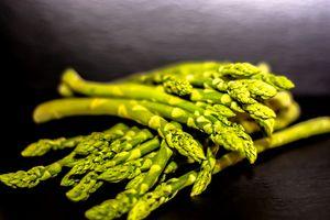 Food : Green asparagus