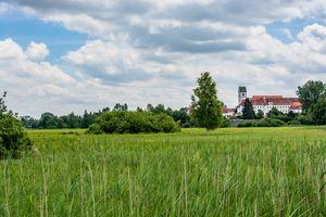 Bad Buchau : View to the castle