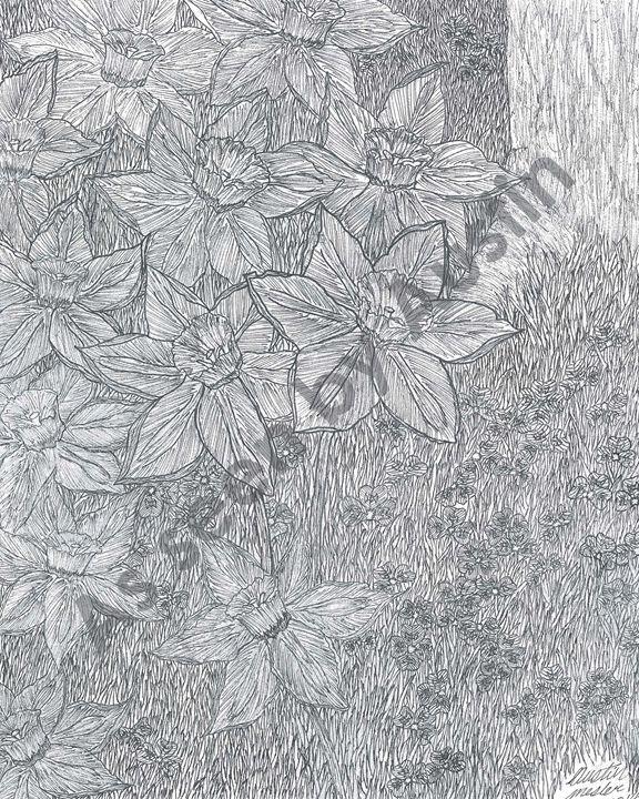 Beautiful Bouquet (print) - Austin Mesler