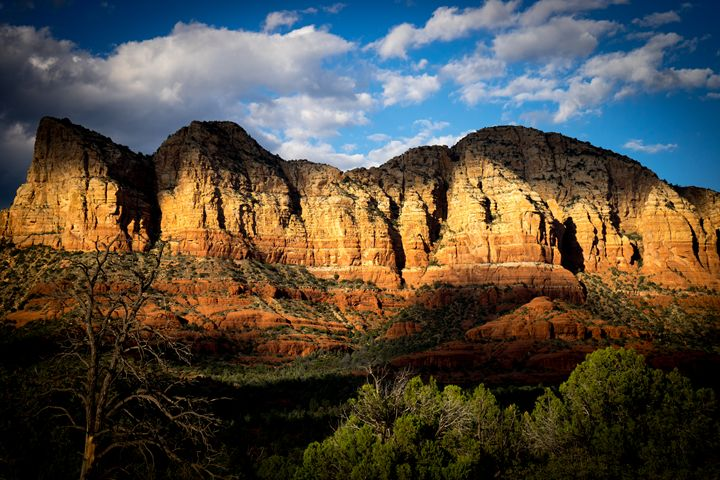 Sedona Landscape - Abstract Fine Art & Photography by Len Morales Jr.